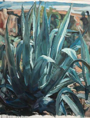Agave I (2016) 152 x 175 cm