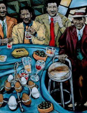 Bar (1997) 182 x 182 cm