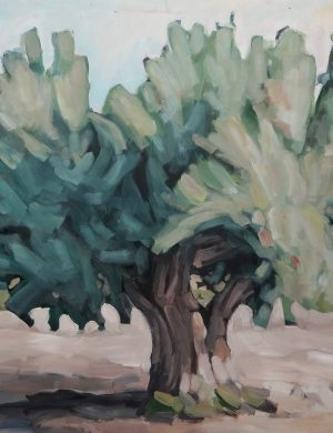 Big Olive Tree (2002) 162 x 130 cm
