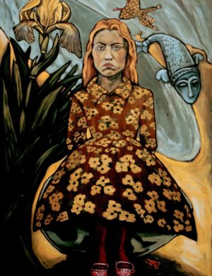 Girl with Iris (1998)