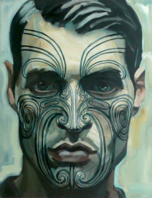 Face II (2008) 162 x 130 cm