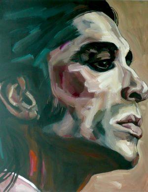 Face IX (2010) 162 x 130 cm