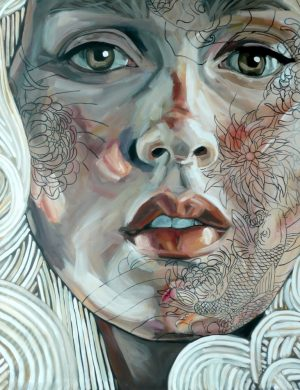 Face VIII (2010) 162 x 130 cm