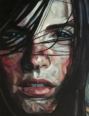 Face VIII (2013) 116 x 89 cm