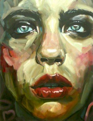 Face VI (2008) 116 x 89 cm