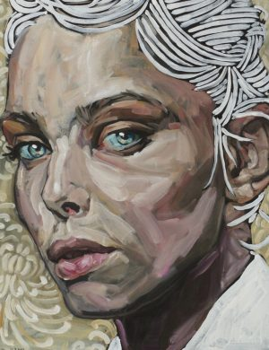 Face XII (2013) 162 x 130 cm