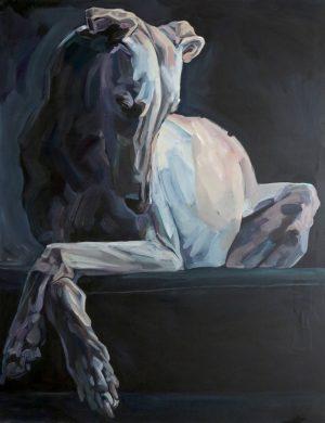 Galgo (2016) 162 x 130 cm