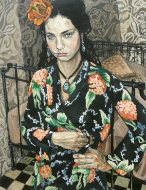 Girl With The Orange Flower (2008)