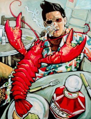 Man With Lobster (1997)
