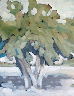 Olive Tree (2001) 81 x 106 cm