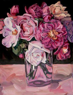 Roses III (2016) 89 x 116 cm