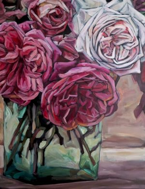 Roses II (2015) 162 x 130 cm