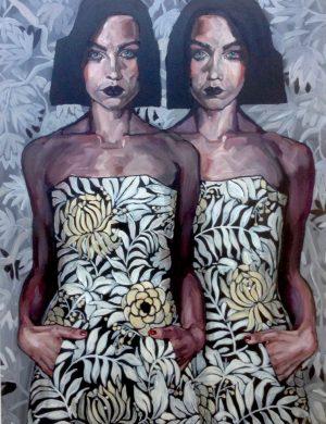 Twins (2015) 130x97 cm