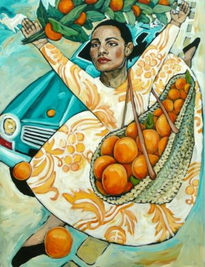 Woman With Oranges (2001)