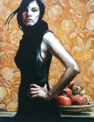 Woman With Pomegranates II (2007)