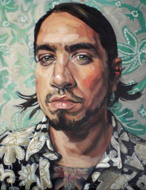 Portrait of Hector Octavio Saenz (2007)
