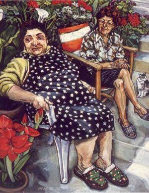 Las Senoras (2001) 162 x 130 cm