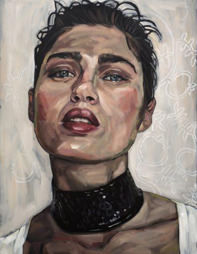 Face XVI (2017) Oil on Canvas