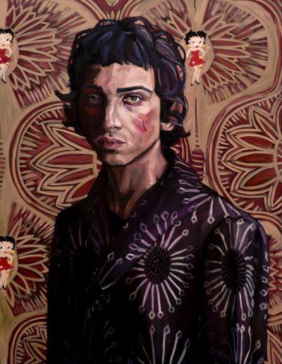 Renaissance Boy (2017) Oil on Canvas