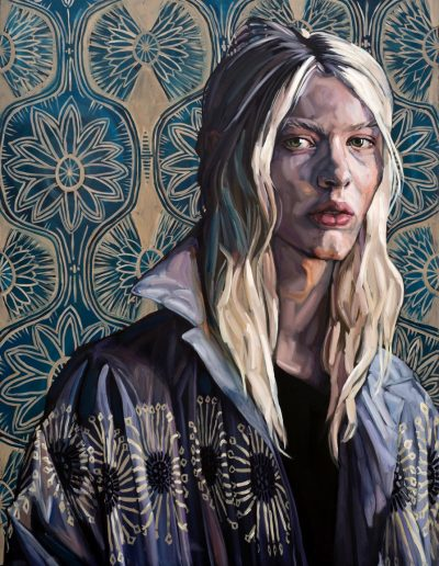 Renaissance Girl (2017) Oil on Canvas