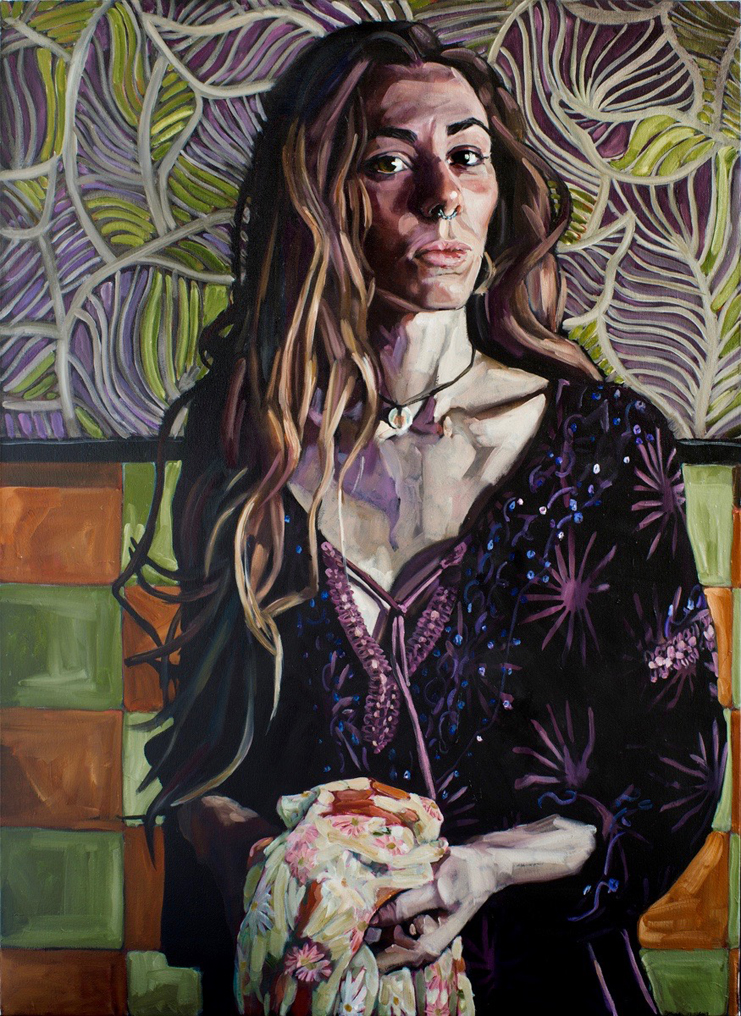 Matilda-Oil and Canvas-2019-100x73cm