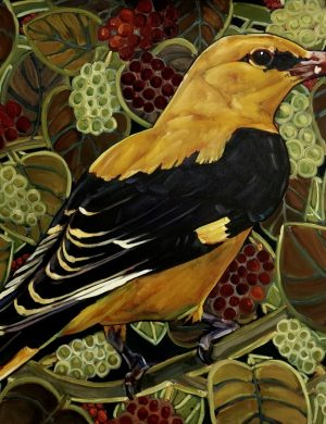 Lockdown Golden Oriole II-Oil and Canvas-5/7/2020